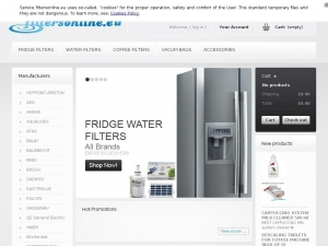 Solid filtering elements for Daewoo fridges
